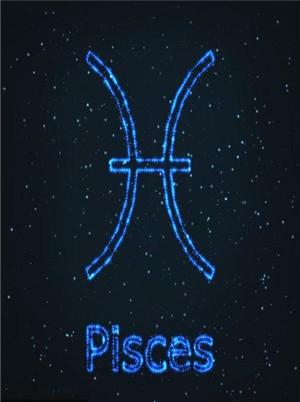 双鱼座星座符号解读,矛盾复杂的双面性格