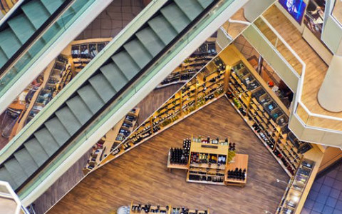 大型商场店铺风水布局禁忌,扶梯会带走商铺的财气