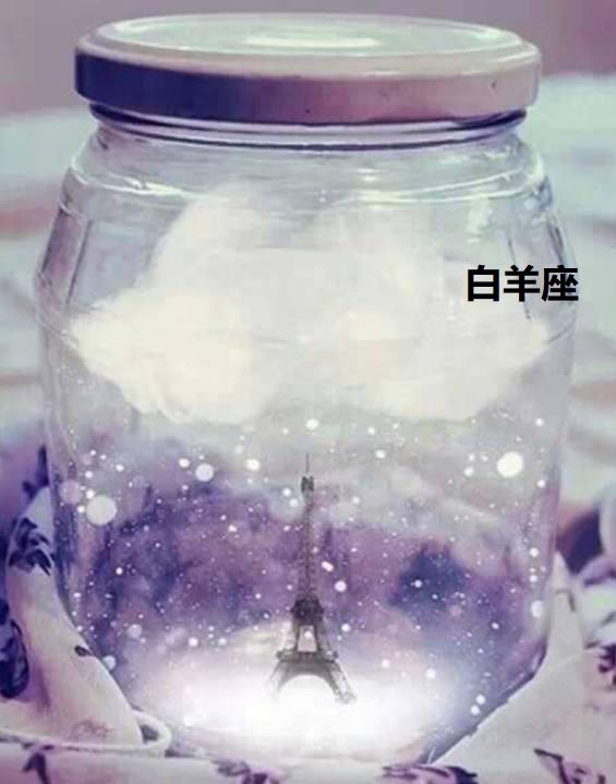 十二星座梦幻星空瓶