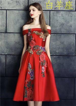 十二星座专属红毯礼服