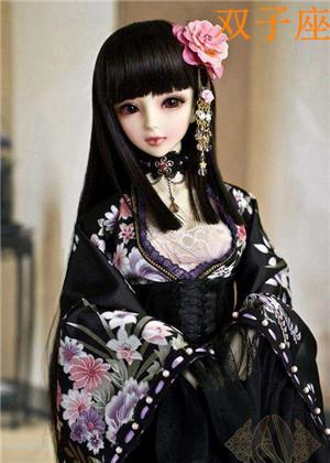 十二星座专属暗黑芭比娃娃